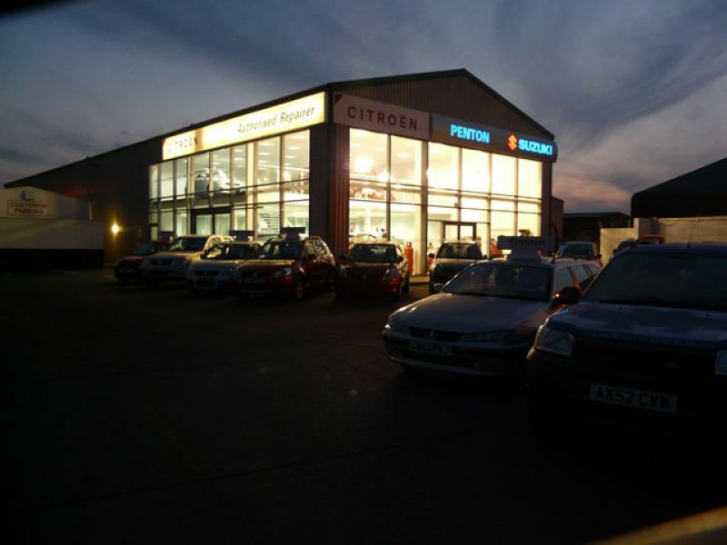 Penton Car Showroom